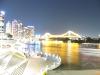 CBD bei Nacht